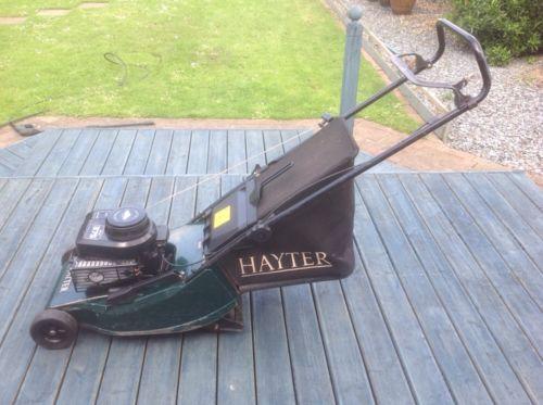 Hayter Hawk 16inch Petrol Push Lawnmower Lawnmowers Shop
