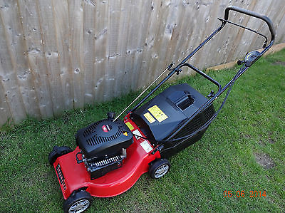 Champion R 484 Petrol Push Lawnmower Excellent Condition
