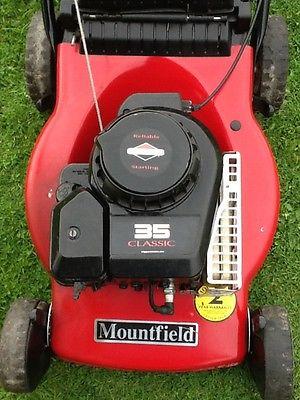 Mountfield 17 Petrol Push Mower Lawnmowers Shop