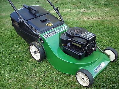 Masport 430 18 Aluminium Push Lawnmower Briggs