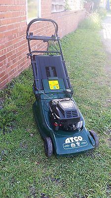 Ride On Mower >> Atco Viscount 19se 4.5hp Petrol Lawn Mower Self Drive/propelled Key Start 19″ - Lawnmowers Shop
