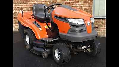 Husqvarna Cth 180 Twin Ride On Lawn Mower Tractor Kawasaki V Twin Engine - Lawnmowers Shop