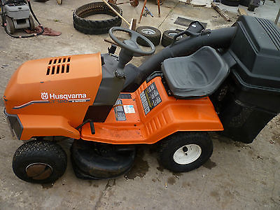 Ride On Mower Husqvarna Lt120 Lawnmowers Shop