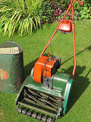 Suffolk Punch 24a Petrol Self Propelled Cylinder Lawnmower