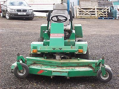 Ransomes Ride On Mower T 33d With Outfront 72 Deck 4