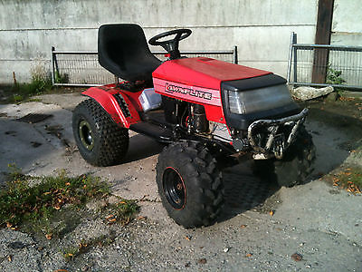 Mtd Lawnflite Off Road Ride On Mower Tractor With Recovery