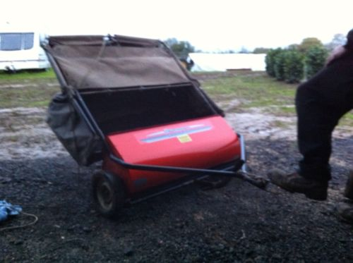 Husqvarna Lawn Leaf Sweeper To Tow Behind Ride On