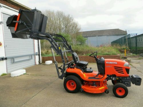 Lawn Tractors With Locking Differentials : Kubota g ii high tip diesel ride on tractor lawnmowers shop