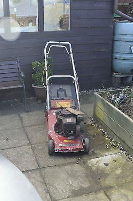 Mountfield Empress 16 Self Propelled Lawn Mower Spares Or Repair Does Start - Lawnmowers Shop