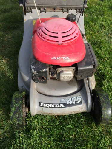 honda hrb 475 push lawnmower petrol with roller. Black Bedroom Furniture Sets. Home Design Ideas