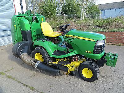 John Deere X740 Diesel Ride On Tractor Mower Lawn Garden