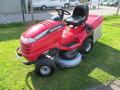 honda garden tractor mower  cutter deck hfhte hp honda engine year  lawnmowers shop