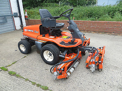 Kubota Am1800 Diesel 4wd Ride On Mower Lawn Garden Tractor