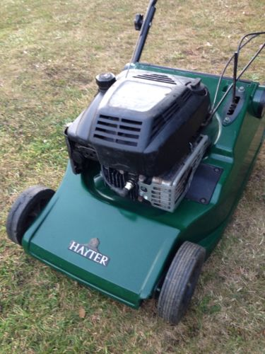 Hayter 48 Self Propelled Petrol Lawn Mower Steel Roller
