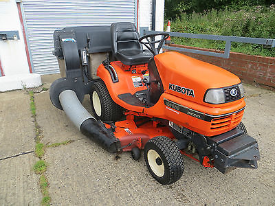 Kubota G2160 Diesel Ride On Tractor Mower Lawn Garden