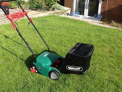 Qualcast 400w Electric Cylinder Push Mower - Lawnmowers Shop