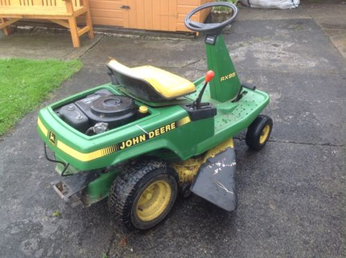 John Deere Rx95 Ride On Mower Tractor Mower Lawnmowers Shop