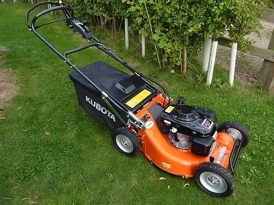 Kubota Pedestrian Lawn Mower Not Ride On Lawnmowers Shop