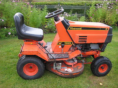 Westwood T1200 Ride On Mower Garden Tractor