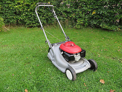 honda hrb 476c qxe 19 cut petrol rear roller push mower. Black Bedroom Furniture Sets. Home Design Ideas