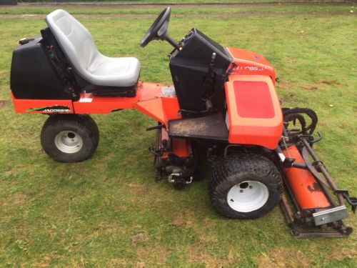 Kubota All Wheel Drive Lawn Mowers 36 Quot Cut : Ride on mower ransomes jacobsen tri king gang cylinder