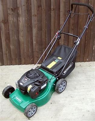 qualcast xsz41d petrol lawnmower push propelled 41cm cut b. Black Bedroom Furniture Sets. Home Design Ideas