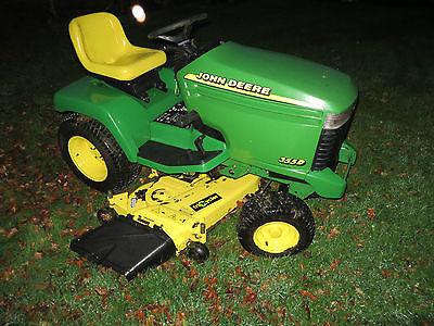 John Deere 355d Ride On Lawn Mower Garden Tractor 54 Diesel Spares