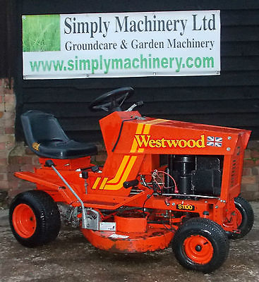 Westwood S1100 Ride On Mower Spares Or Repairs Sit On