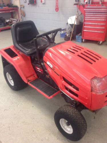 16 Mtd Tractor : Ride on mower mtd e racing hp twin briggs and