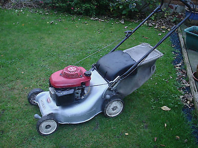 Honda Hrg465 18 Izy Push Lawnmower Gcv135 4 5hp Serviced