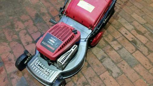Mountfield Sp 460 Self Propelled Petrol Lawnmower With Roller. - Lawnmowers Shop