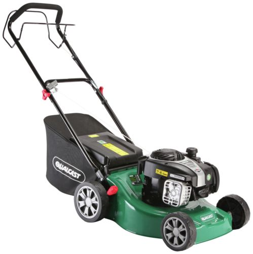 qualcast 41cm wide self propeled petrol lawnmower 125cc. Black Bedroom Furniture Sets. Home Design Ideas