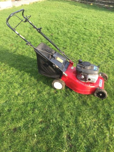 laser by mountfield 18 self propelled lawn mower with. Black Bedroom Furniture Sets. Home Design Ideas