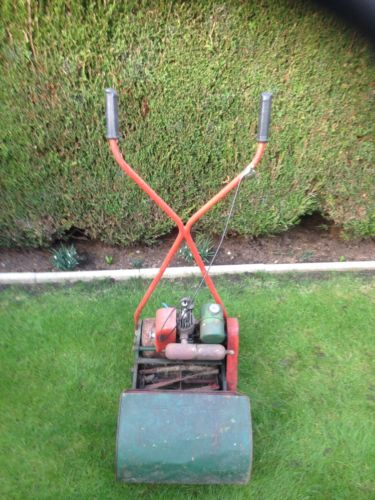 Vintage Qualcast 2 Stroke Jap Push Lawn Mower Lawnmowers