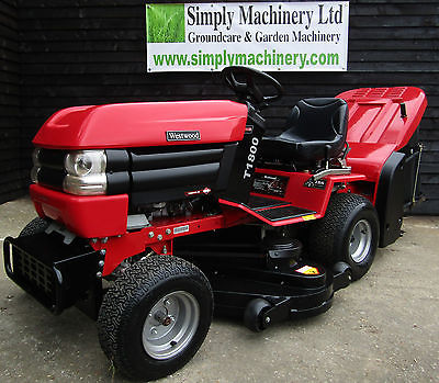 Westwood T1800h 4 215 4 Ride On Mower 18hp 48 Sit On Lawn