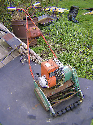 Classic Lawn Mower Suffolk Punch Self Propelled Spares Or Repair - Lawnmowers Shop