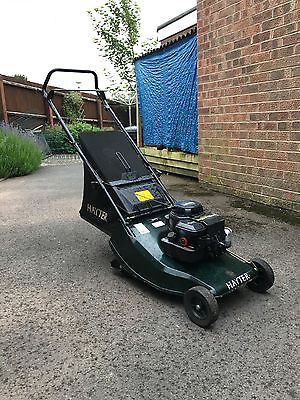 Hayter Hunter 41 Push Lawn Mower With Roller Lawnmowers