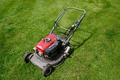Honda Hr216 Petrol Push Lawn Mower Back Roller - Lawnmowers Shop