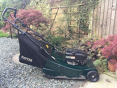 Hayter Harrier 56 Self Propelled Petrol Lawnmower Brand