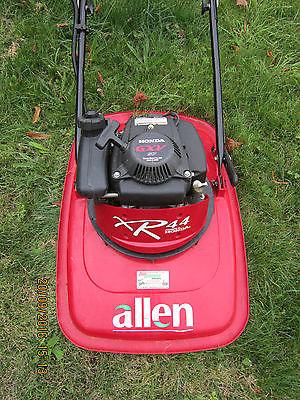 allen xr push hover mower honda  stroke engine nylon flexiblade system lawnmowers shop