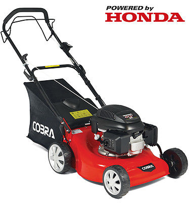 New cobra m46sph 18 self propelled lawnmower honda engine for Best motor oil for lawn mowers