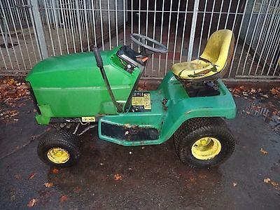 John Deere Ride On Mower 14 Hp Spares Or Repair Lawn Mower