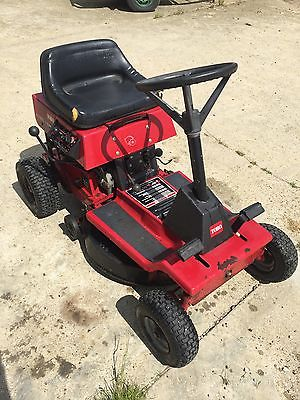 Toro 8 25 Ride On Lawn Mower Mulching Deck And Collection