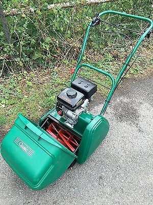 Qualcast 35 Classic Cylinder Lawnmower Self Propelled 2014