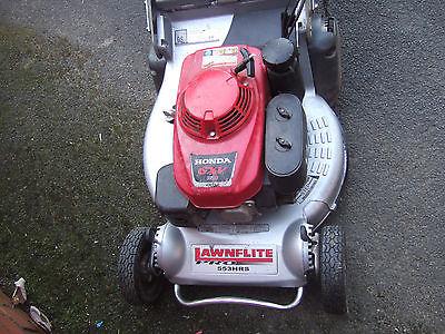Honda Lawnflite 553 Pro Self Propelled Roller Mower