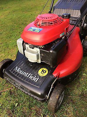 mountfield sp  propelled petrol lawn mower  honda engine lawnmowers shop