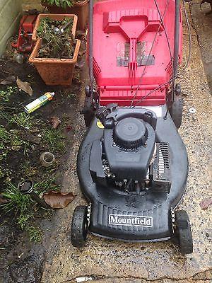 Mountfield Self Propelled Petrol Lawnmower Lawnmowers Shop