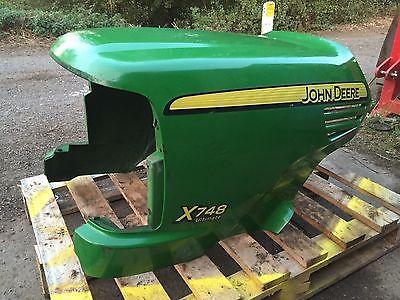 John Deere X748 Ride On Mower Bonnet Lawnmowers Shop