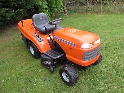 Husqvarna Cth 155 36 Hydrostatic Ride On Lawn Mower Garden Tractor Collector Lawnmowers Shop