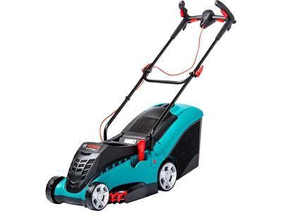 bosch rotak 40 ergoflex 1700 watt four wheeled push electric rotary mower 16 lawnmowers shop. Black Bedroom Furniture Sets. Home Design Ideas